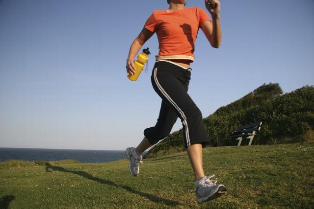 door sporten met spierpijn